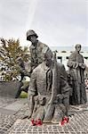 Warsaw Uprising Monument, Warsaw, Masovian Voivodeship, Poland Stock Photo - Premium Rights-Managed, Artist: Tomasz Rossa, Code: 700-03460286