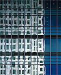 Commercial building facade - detail. Architects: Cesar Pelli and Associates