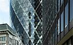 30 St Mary Axe, The Gherkin, City of London, London. Architects: Foster and Partners Stock Photo - Premium Rights-Managed, Artist: Arcaid, Code: 845-03463405