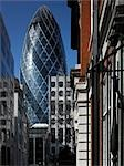 Swiss Re Building, (The Gherkin) St Mary Axe, London Stock Photo - Premium Rights-Managed, Artist: Arcaid, Code: 845-03463478