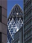 Swiss Re Building, (The Gherkin) St Mary Axe, London Stock Photo - Premium Rights-Managed, Artist: Arcaid, Code: 845-03463479