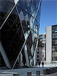 Swiss Re Building, (The Gherkin) St Mary Axe, London Stock Photo - Premium Rights-Managed, Artist: Arcaid, Code: 845-03463481