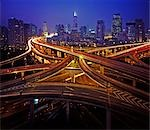 Shanghai. motorway intersections Stock Photo - Premium Rights-Managed, Artist: Arcaid, Code: 845-03463635