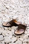 Sandals on white stones Stock Photo - Premium Rights-Managed, Artist: Arcaid, Code: 845-03463669