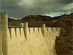 Hoover Dam, Nevada, looking towards Arizona Stock Photo - Premium Rights-Managed, Artist: Arcaid, Code: 845-03463687