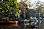 Canal, Amsterdam.