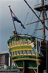 The VOC ship, part of the Maritime Museum, Amsterdam. Stock Photo - Premium Rights-Managed, Artist: Arcaid, Code: 845-03463737