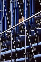 pipework - Centre Georges Pompidou, Beaubourg, Paris (1977). Architects: Renzo Piano and Richard Rogers Stock Photo - Premium Rights-Managednull, Code: 845-03464096