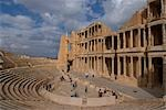 Theatre, Roman site of Sabratha, Libya Stock Photo - Premium Rights-Managed, Artist: Arcaid, Code: 845-03464318