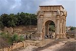 Arch of Septimius Severus, Leptis Magna, Libya Stock Photo - Premium Rights-Managed, Artist: Arcaid, Code: 845-03464319