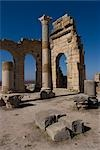 Basilica, Numidian, Roman site of Volubilis, near Meknes, Morocco Stock Photo - Premium Rights-Managed, Artist: Arcaid, Code: 845-03464363