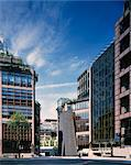 Broadgate Circus, City of London. Architects: ARUP Associates Stock Photo - Premium Rights-Managed, Artist: Arcaid, Code: 845-03464623
