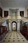 Audley End. View of the staircase in the Great Hall looking through to the Lobby and Dining Parlour . Stock Photo - Premium Rights-Managed, Artist: Arcaid, Code: 845-03464640