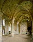 Battle Abbey. Novices Room, South end of Dorter. Stock Photo - Premium Rights-Managed, Artist: Arcaid, Code: 845-03464650