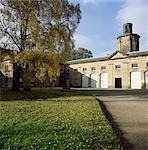 Belsay Hall Stables. South front. Architect: John Dobson Stock Photo - Premium Rights-Managed, Artist: Arcaid, Code: 845-03464653