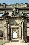 Bolsover Castle. The main entrance to the Terrace Range. Stock Photo - Premium Rights-Managed, Artist: Arcaid, Code: 845-03464663