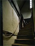 Boscobel House. First floor staircase. Stock Photo - Premium Rights-Managed, Artist: Arcaid, Code: 845-03464665