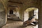 Dover Castle. View of the caponier leading to the spur with a cannon in the foreground. Stock Photo - Premium Rights-Managed, Artist: Arcaid, Code: 845-03464721
