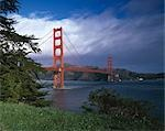 Golden Gate Bridge, San Francisco, California, 1934 - 1936. Engineers: Engineers: Joseph B. Strauss Stock Photo - Premium Rights-Managed, Artist: Arcaid, Code: 845-03465046