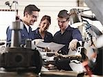 Engineer Teaching Apprentices Stock Photo - Premium Royalty-Free, Artist: Robert Harding Images, Code: 649-03466076