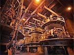 Worker Milling Coal In Power Station Stock Photo - Premium Royalty-Free, Artist: Raymond Forbes, Code: 649-03466147