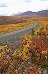 Dempster Highway Running North through Ogilvie Mountains, Yukon, Canada Stock Photo - Premium Rights-Managed, Artist: Hans Blohm, Code: 700-03466597