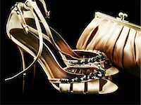 Shoes and handbag Stock Photo - Premium Royalty-Freenull, Code: 614-03468705