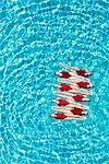 Synchronised swimmers balance head-to-toe Stock Photo - Premium Royalty-Free, Artist: Aflo Sport               , Code: 693-03474155