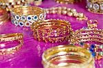 Jewellery in a shop, Pushkar, Rajasthan, India Stock Photo - Premium Royalty-Free, Artist: Photosindia, Code: 630-03479075