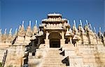Facade of a temple, Ranakpur, Pali District, Rajasthan, India Stock Photo - Premium Royalty-Free, Artist: Robert Harding Images, Code: 630-03479095