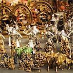 Close-up of figurines