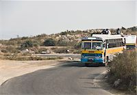 Bus on the road, Gurgaon, Haryana, India Stock Photo - Premium Royalty-Freenull, Code: 630-03480510