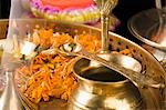Close-up of religious offerings in a Diwali pooja thali Stock Photo - Premium Royalty-Free, Artist: Minden Pictures, Code: 630-03482070