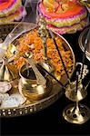 Close-up of religious offerings in a Diwali pooja thali Stock Photo - Premium Royalty-Free, Artist: Minden Pictures, Code: 630-03482074