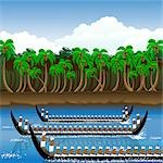 Snake boat racing in Onam festival, Kerala, India Stock Photo - Premium Royalty-Freenull, Code: 630-03482234