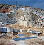 Open cast marble mine, Greece, Europe Stock Photo - Premium Rights-Managed, Artist: Robert Harding Images, Code: 841-03483697