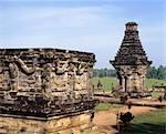 Candi Penataran, dating from the 12th century, lies about 10 kilometres to the north of Blitar, and is the largest in East Java, Indonesia, Southeast Asia, Asia Stock Photo - Premium Rights-Managed, Artist: Robert Harding Images, Code: 841-03483745