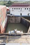 Miraflores Locks, Panama Canal, Panama Stock Photo - Premium Rights-Managed, Artist: John Lee, Code: 700-03484580