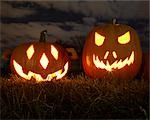 Jack o' Lanterns at Pumpkin Festival, Toronto, Ontario, Canada Stock Photo - Premium Rights-Managed, Artist: Derek Shapton, Code: 700-03484964