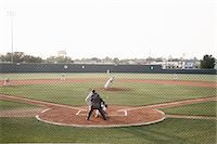 professional baseball game - Baseball Game Stock Photo - Premium Rights-Managednull, Code: 700-03485000