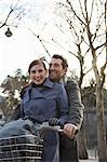 Close up of a couple on a Velib Stock Photo - Premium Rights-Managed, Artist: ableimages, Code: 822-03485209