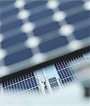 Solar power station out of focus panel Stock Photo - Premium Royalty-Free, Artist: Cultura RM, Code: 649-03487482