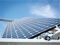 solar power - Solar power station, panel close up Stock Photo - Premium Royalty-Freenull, Code: 649-03487494