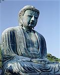 Daibutsu, the Great Buddha statue, Kamakura, Tokyo, Japan, Asia Stock Photo - Premium Rights-Managed, Artist: Robert Harding Images, Code: 841-03489588