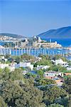 Bodrum harbour and St. Peter Castle, Bodrum, Anatolia, Turkey, Asia Minor, Eurasia Stock Photo - Premium Rights-Managed, Artist: Robert Harding Images, Code: 841-03489871