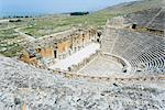 Roman amphitheater, Hierapolis, Pamukkale, UNESCO World Heritage Site, Anatolia, Turkey, Asia Minor, Eurasia Stock Photo - Premium Rights-Managed, Artist: Robert Harding Images, Code: 841-03489886