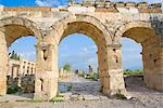 The Gate of Domitian, Hierapolis, Pamukkale, UNESCO World Heritage Site, Anatolia, Turkey, Asia Minor, Eurasia Stock Photo - Premium Rights-Managed, Artist: Robert Harding Images, Code: 841-03489888