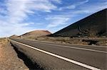 Road and Volcanoes, Lanzarote, Canary Islands, Spain Stock Photo - Premium Rights-Managed, Artist: Siephoto, Code: 700-03490319