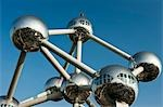 Atomium, Brussels, Belgium Stock Photo - Premium Rights-Managed, Artist: JW, Code: 700-03501290