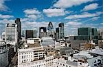 Overview of Financial District, London, England Stock Photo - Premium Rights-Managed, Artist: JW, Code: 700-03501310